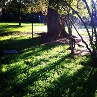 Photo taken at Parco Di Via Arcobaleno by francesca f. on 10/25/2012