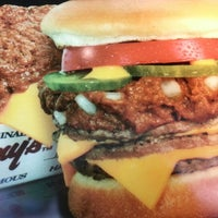 Photo taken at Original Tommy's Hamburgers by Mike D. on 9/18/2012