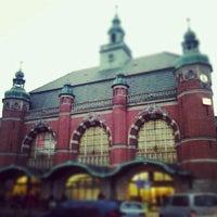 Photo taken at Lübeck Hauptbahnhof by Alisa on 1/2/2013
