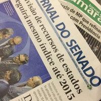 Photo taken at Gabinete Senador Aécio Neves by Jose Geraldo P. on 4/10/2013