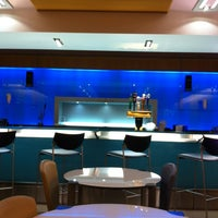 Photo taken at Delta Sky Club by Zahlouth J. on 3/12/2013