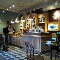 Photo taken at Green Caffè Nero by lou d. on 12/29/2014