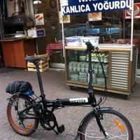 Photo taken at Kanlıca Meydanı by Murat T. on 4/18/2014