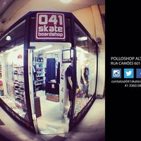 Photo taken at 041 Skate Shop by Iverson F. on 2/10/2014
