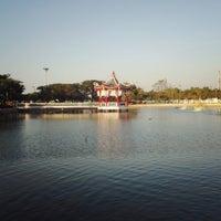 Photo taken at สวนสาธารณะ ตำหนักน้ำ by NooPee B. on 1/12/2014