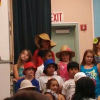 Photo taken at John L. Golden Elementary by Curtis on 5/8/2013