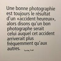 Photo prise au Musée de la Photographie par Emma S. le2/10/2017