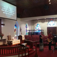 Photo taken at Bracken United Methodist Church by Eric B. on 5/3/2015