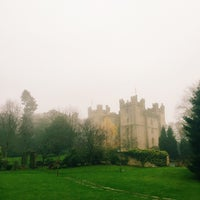 Photo taken at Langley Castle Hotel by Kati D. on 11/27/2014