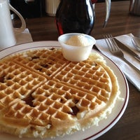 Photo taken at Sally's Waffle Shop by Bill S. on 10/29/2012
