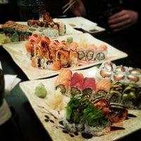 Photo taken at River Japanese Cuisine by Deepak R. on 3/16/2013
