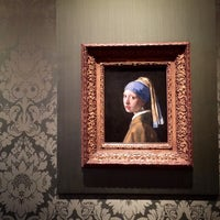 Photo taken at Mauritshuis by Abigail K. on 2/23/2015