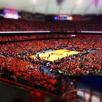 Photo taken at Carrier Dome by Matt V. on 3/2/2013