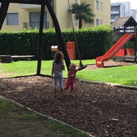 Photo taken at Parco giochi Usignolo by Benjamin F. on 8/17/2015