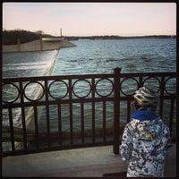 Photo taken at White Rock Lake Spillway by Daniel M. on 12/26/2012