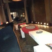 Photo taken at Milano Lounge Cafè by Steve Gam on 11/6/2012