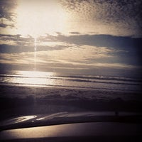 Photo taken at First Beach by Webby W. on 11/16/2012