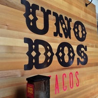Photo taken at Uno Dos Tacos by Wilfred W. on 10/7/2014