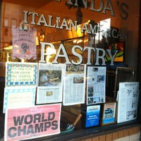 Photo taken at Dianda's Italian American Pastry by Wilfred W. on 11/24/2012