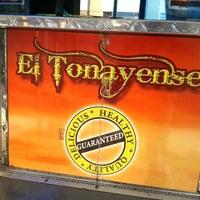 Photo taken at El Tonayense Taco Truck by Wilfred W. on 12/30/2012