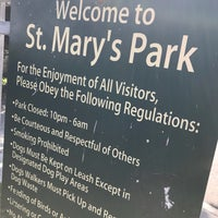 Photo taken at St. Mary's Park Dog Run by Wilfred W. on 3/11/2017