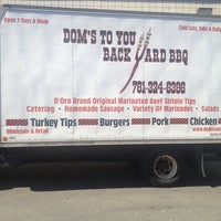 Photo taken at Dom's Sausage Co Inc. by GalwayGirl on 9/7/2013