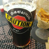 Photo taken at CAUTION: Brewing Company by Sheppy on 8/6/2017