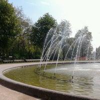 Photo taken at Zuidpark (Koning Albert I-park) by Sien G. on 5/7/2013