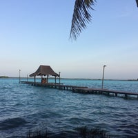 Photo taken at Bacalar by Felipe T. on 5/5/2017