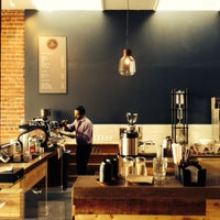 Photo taken at Sextant Coffee Roasters by Bryan C. on 5/9/2014