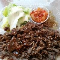 Photo taken at Taste Of Korea by Brian N. on 1/23/2013
