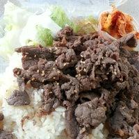 Photo taken at Taste Of Korea by Brian N. on 1/2/2013