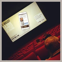 Photo taken at Pathé Belfort by Nicolas on 11/1/2014
