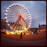 Photo taken at Place Bellecour by Nicolas on 2/13/2013