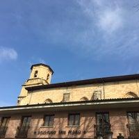 Photo taken at Plaza San Pedro de Deusto by Borja on 3/9/2017