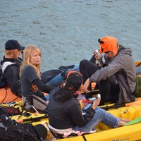Photo taken at McCovey Cove by Steve R. on 10/25/2012