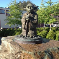Photo taken at Yoda Statue by Steve R. on 8/23/2013