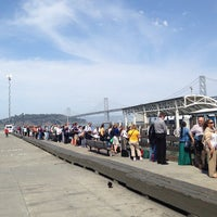 Photo taken at Gate E - Alameda/Oakland/Harbor Bay Ferry Dock by Steve R. on 7/2/2013