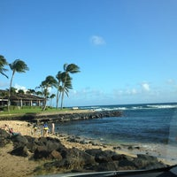 Photo taken at Snorkeling @ Lawai Beach by George F. on 2/20/2013