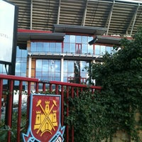Photo taken at West Ham Utd Supporters Club by Federico T. on 11/22/2012