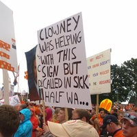 Photo taken at ESPN College GameDay by Ant on 10/19/2013