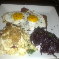 Photo taken at Heinrich's German Grill by Ant on 7/30/2013