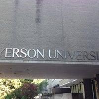 Photo taken at Ryerson University by Jimmy W. on 7/15/2013