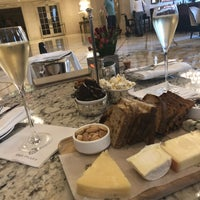 Photo taken at Champagne Bar Plaza Hotel by Erin M. on 4/13/2018
