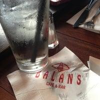 Photo taken at Balans Restaurant & Bar, Biscayne by Lourdes on 2/23/2013