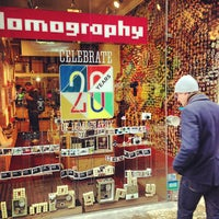 Photo taken at Lomography Gallery Store by Emanuele S. on 11/27/2012