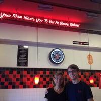 Photo taken at Jimmy John's by Chris C. on 9/29/2013
