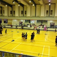 Photo taken at Salah AlDin Sports Hall صالة صلاح الدين الرياضية by Mervin I. on 2/15/2013