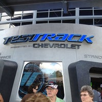 Photo taken at Test Track Presented by Chevrolet by Steve F. on 1/8/2013