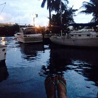 Photo taken at Marina Bay Marina by Alina N. on 8/4/2014